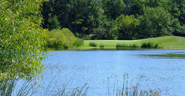 A view over the water at The Sanctuary Golf Club.