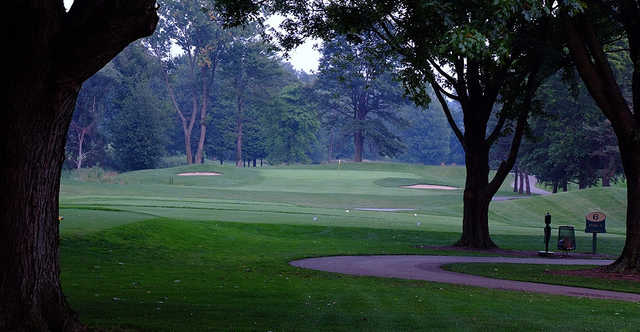 A view of tee #6 at The Sanctuary Golf Club.