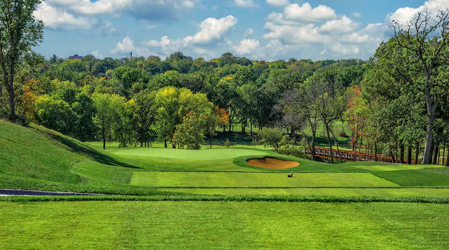 A view from a tee at Columbia Golf & Country Club.