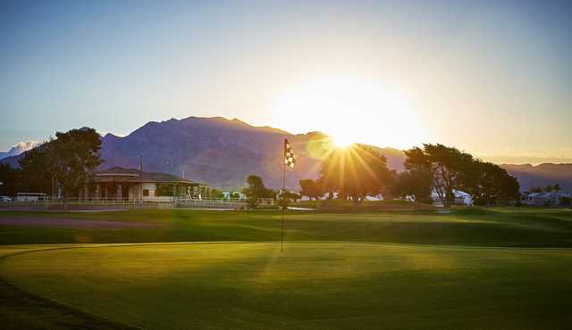 A view of a hole from The Club at Sunrise.
