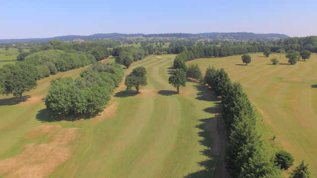 Aerial view from Aldersey Green Golf Club