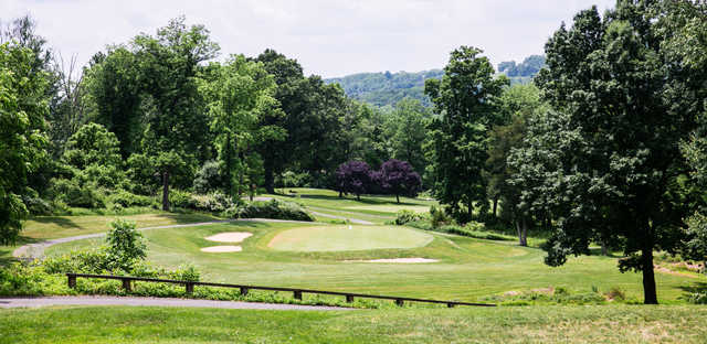 View of the 5th hole at Harkers Hollow Golf Club