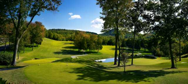 A view from a tee at Richland Country Club.