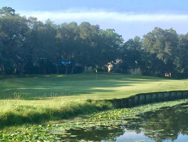 A view over a pond at Shalimar Pointe Golf & Country Club.
