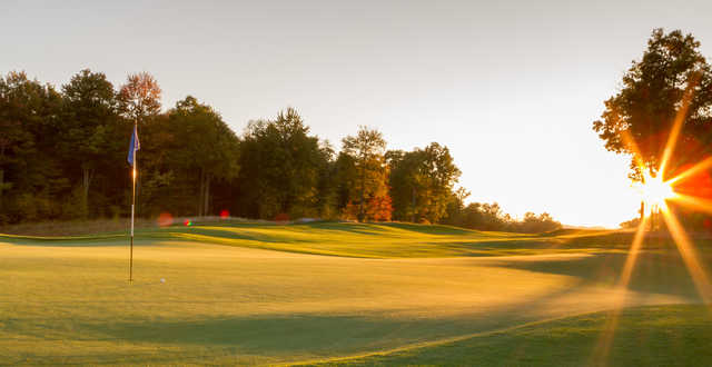 A view of the 16th hole at Lodestone Golf Club.