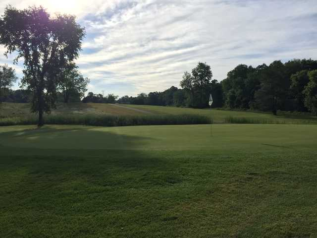 View from the 10th hole at Indian Springs Metropark Golf Course