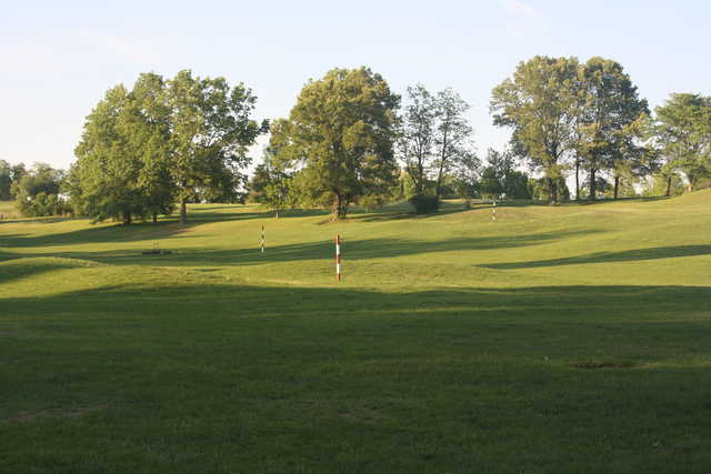 A sunny day view from Quail Creek Golf Course.