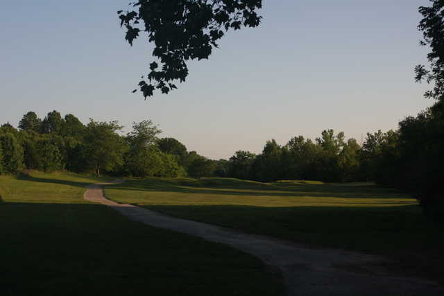 A view of a fairway at Quail Creek Golf Course.