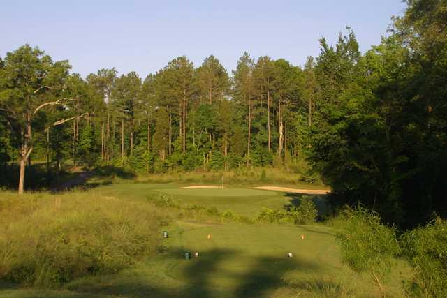 A view of a tee at Waterford Golf Club.