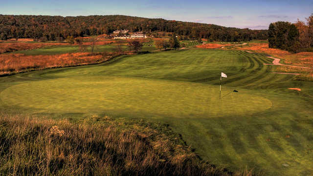 A view of the 1st green at Boone Valley Golf Club.