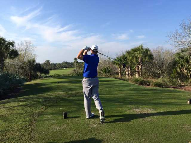 A view from a tee at John's Island Club.