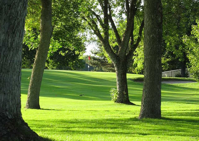 A view from New Hope Village Golf Course.