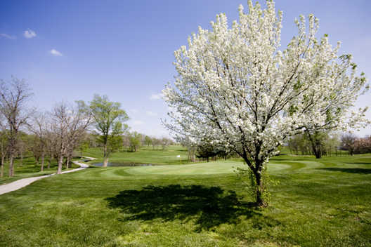 A spring view from Gardner Golf Course