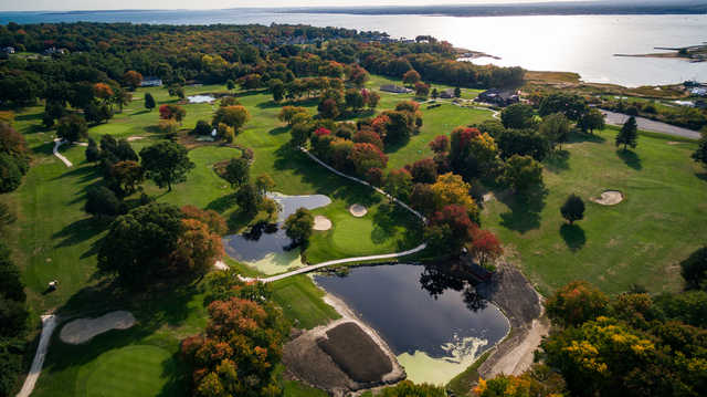 Aerial view from Harbor Lights Golf & Country Club