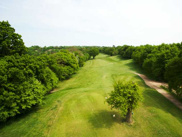 View from the 4th tee at West Essex Golf Club