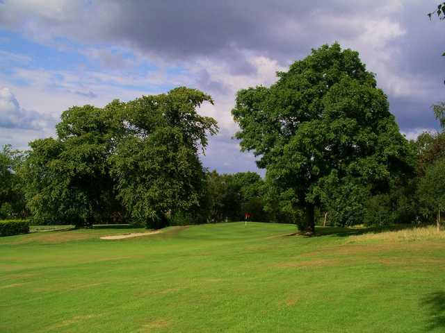 View of the 12th hole at Cochrane Castle Golf Club