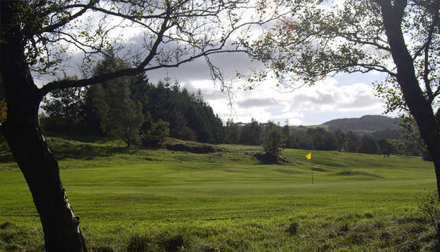 View of the 4th hole at Cochrane Castle Golf Club
