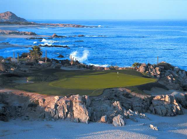 A view of hole #17 from The Cove Club.