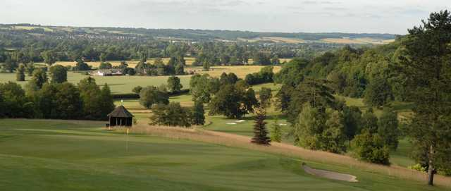 A view from Temple Golf Club