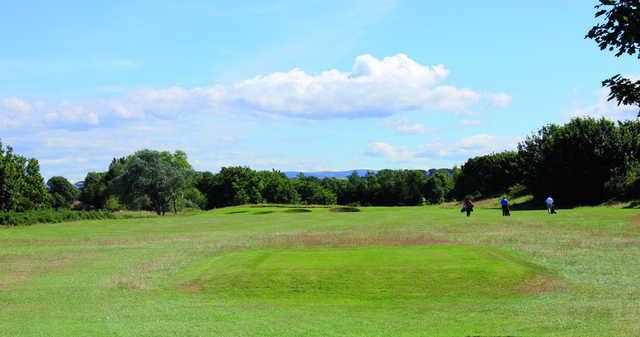 A view from Prestwick St Cuthbert Golf Club