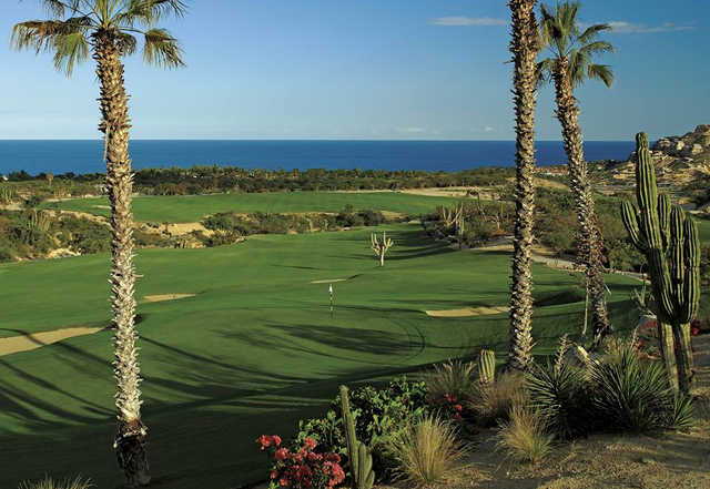 A view of hole #9 at Ocean from One&Only Palmilla Golf Club.