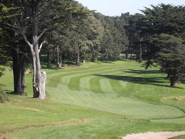 A view of a fairway at Gleneagles GC at McLaren Park