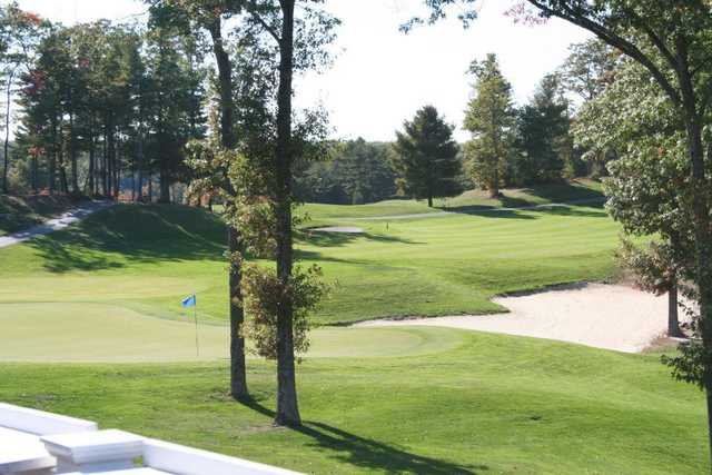 View of the 9th hole at Crystal Lake Golf Club