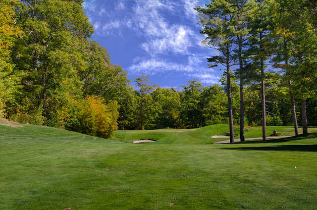 View of the 5th hole at Crystal Lake Golf Club