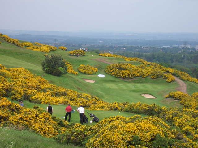 Swanston Golf Club - 8th Hole