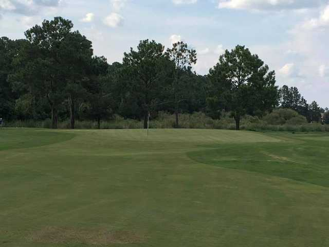 A view of hole #2 at St. Johns Golf Club.