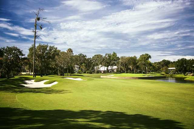 A view from the 15th fairway at Plantation from Ponte Vedra.