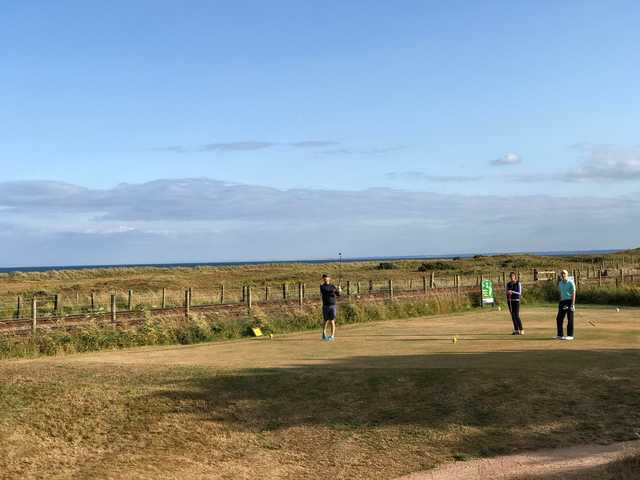 A view from Arbroath Links Golf Course