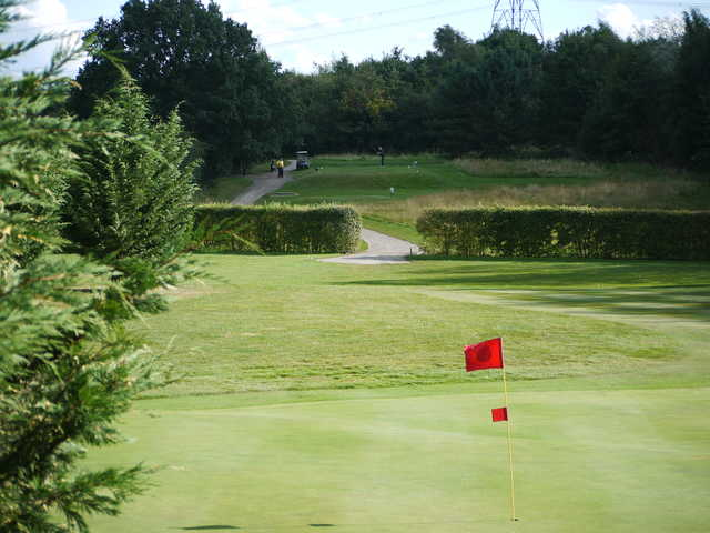 View of a green at Aylesbury Vale Golf Club