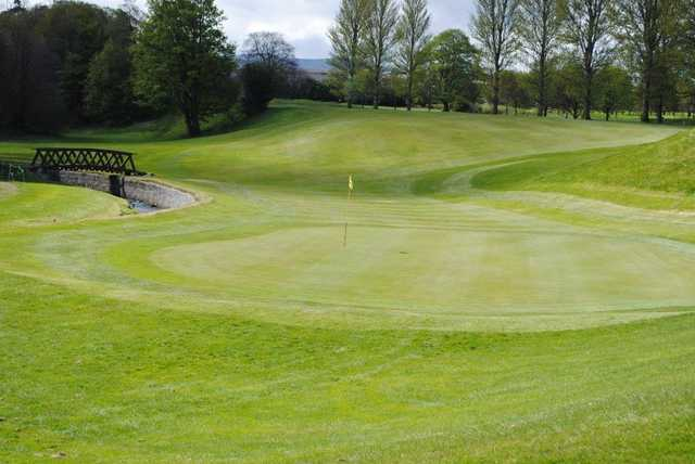 View of the 4th hole at Liberton Golf Club