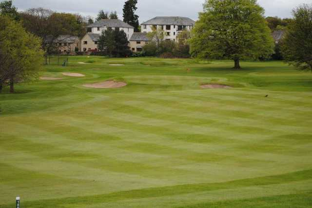 View of the 15th hole at Liberton Golf Club