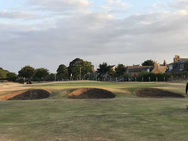 View of the 13th hole from the  Medal Course at Montrose Golf Links