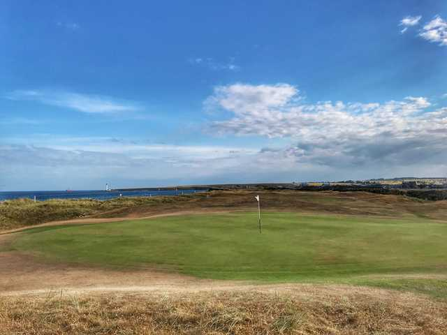 View of the 2nd green from the Medal Course at Montrose Golf Links