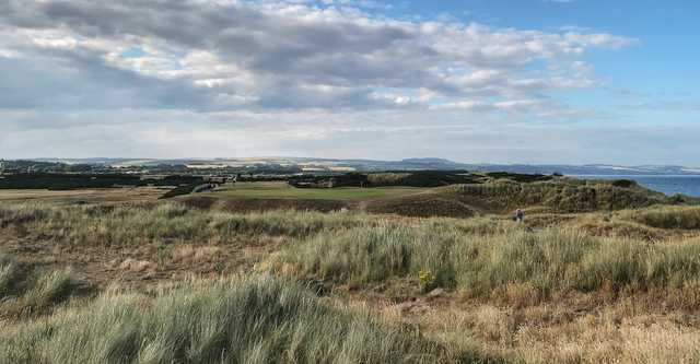 View of a green from the Medal Course at Montrose Golf Links