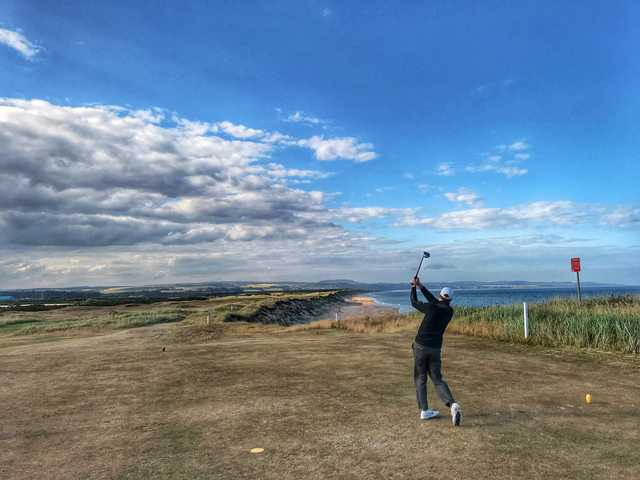 A view from Montrose Golf Links