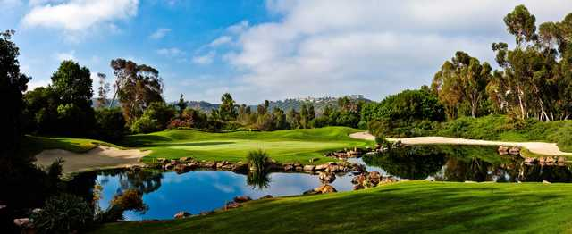 A view of hole #8 at Aviara Golf Club.