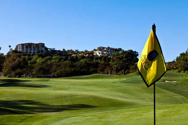 A view from the 9th green at Aviara Golf Club.