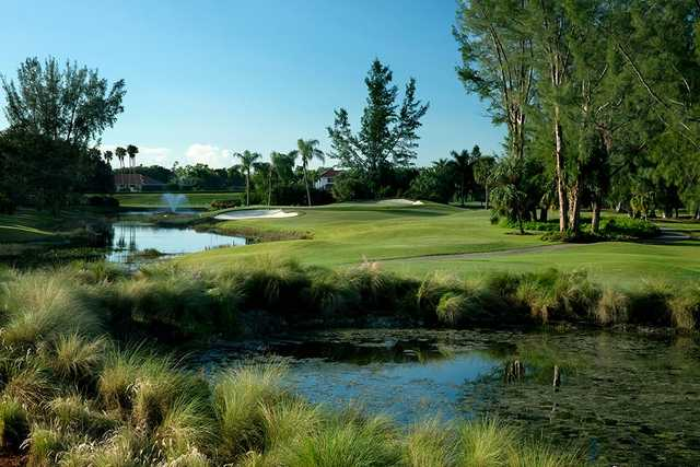 A view of the 5th hole at Palmer Course from PGA National Resort & Spa.