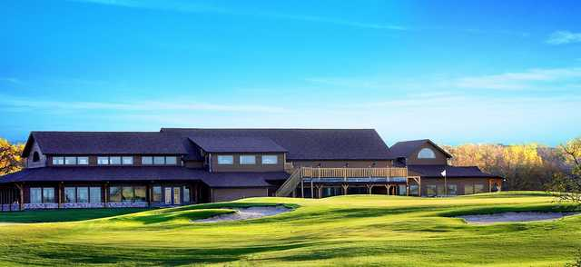 View of the clubhouse at Bridges Golf Course