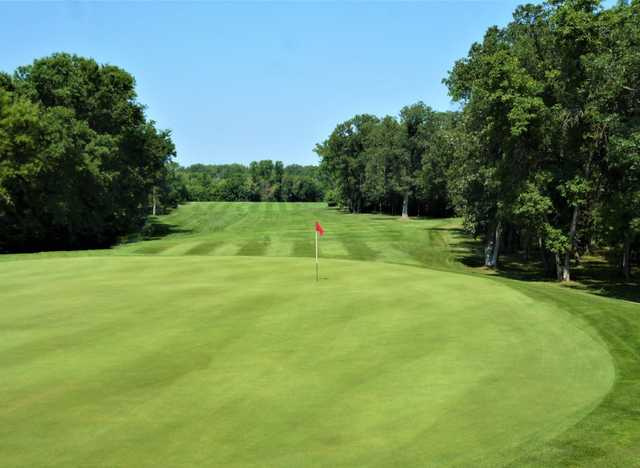 View of the 12th hole at Bridges Golf Course