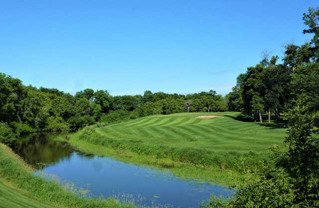 View of the 3rd hole at Bridges Golf Course