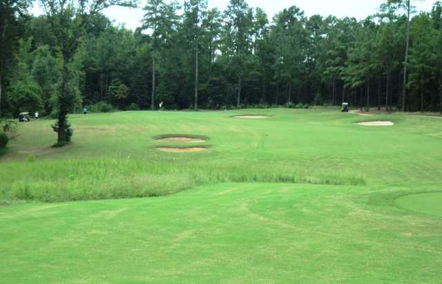 A view of a fairway at Bartram Trail Golf Club.