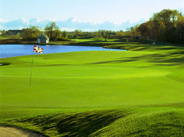 A view of the 3rd green at Horseshoe Bay Golf Club.