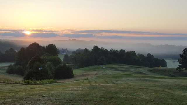 A view from Rapidan Golf Club.