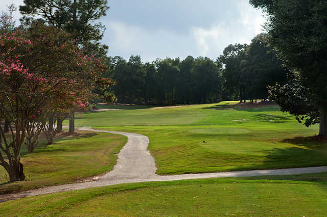A view from the 5th tee at Camden Country Club.