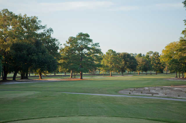 A view of fairway #13 at Camden Country Club.